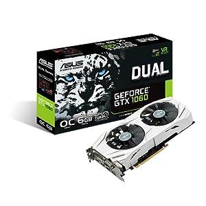 Asus Dual GeForce GTX1060-O6G Grafikkarte