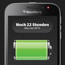 Hochwertige Materialien und ein starker Akku - RIM Blackberry Classic Q20