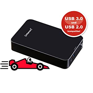 Datentransfer mit Super Speed USB 3.0 - Intenso HDD Memory Center 5TB USB 3.0
