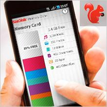 Speicher-Management ganz einfach - SanDisk Ultra microSDXC