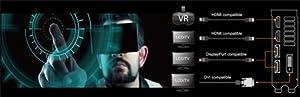 VR-geeignete HDMI-Schnittstellen - Asus Dual GeForce GTX 1060