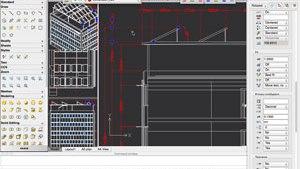 Windows Multifunktionsleiste von CorelCAD 2014 Education Edition