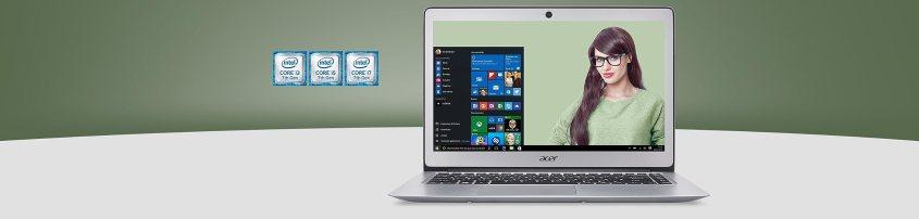 Acer Swift 3 SF314 : équipé d'un processor Intel Core i5-7200U