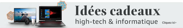 Guide d'idées cadeaux high-Tech et informatique