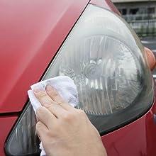 ヘッドライト&樹脂パーツ 透明復元コート