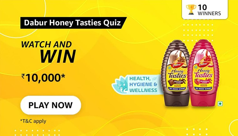 Does Dabur Honey Tasties have 0% added sugar?