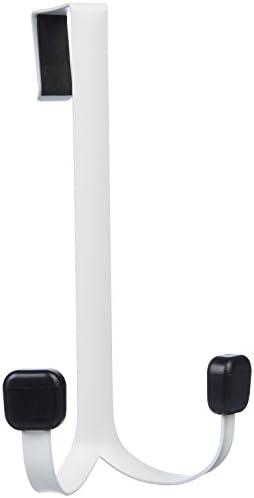 2105uDRRljL. AC  - AmazonBasics – Gancho individual para puerta, Doble gancho, Blanco, Double Hook, 1 #Amazon