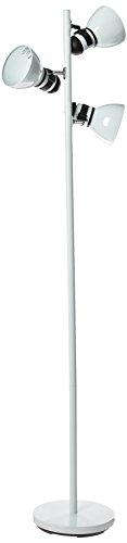 Boston Harbor TL-TREE-134-WH Three Light Tree Lamp, 65', White