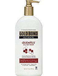 Gold Bond Ultimate Diabetic Skin Relief Lotion, 13 oz - Buy Packs and SAVE (Pack of 2)