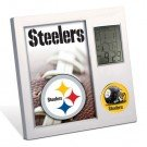 NFL Pittsburgh Steelers Digital Desk Clock