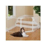 Command Pet Custom Fit Gate, 29.5', White