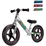 Oyerun Baby Fit Balance Bike - Kids Smart Adjustable Push Bikes (Silver)