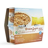 Weight Watchers Maple Brown Sugar Oatmeal 1 package which contains 4 separate cup servings NEW Diet 3 Smart Points