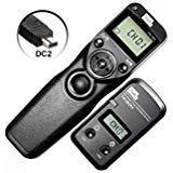 PIXEL FSK 2.4GHz Wired or Wireless Timer Shutter Remote Control for Nikon D5200 D3100 D5000 D7200 D600 D610 D750 D3200 D3300 Cameras