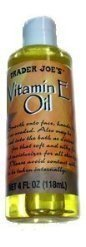 Pack of 2 Trader Joe's Vitamin Oil E 4oz each