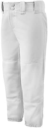 Mizuno Adult Women's Belted Low Rise Fastpitch Softball Pant 1