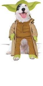 Yoda Pet Costume - Yoda Pet Costume Medium