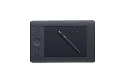 Wacom uPTH451 Small Intuos Pro Pen & Touch Tablet (Renewed)