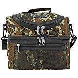 EastWest USA Tactical Insulated Lunch Box with Shoulder Strap