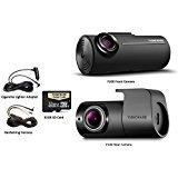 Thinkware F100 32GB 1080P HD 2 Channel Dash Camera (32GB + Rear Camera + Hardwire Kit)