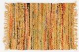 Sturbridge Country Rag Rug in Mustard 30' x 50'