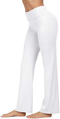 VIISHOW Women's Boot-Cut Yoga Pants Tummy Control Workout Non See-Through Bootleg Yoga Pants 2