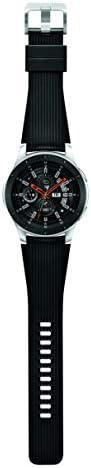 Samsung Galaxy Watch smartwatch (46mm, GPS, Bluetooth) – Silver/Black (US Version with Warranty) 7