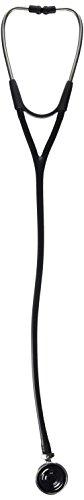 Welch Allyn 5079-325 Harvey DLX Stethoscopes, Double Head, 28', Black