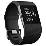 Fitbit Surge Smart Fitness Watch Superwatch Wireless Activity Tracker with Heart Rate Monitor, Large (6.3-7.8 in) (Non-Retail Packaging)