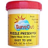 Sunsout Puzzle Preserver Glue 2 PACK