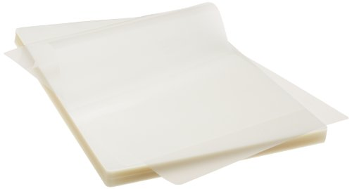 AmazonBasics Thermal Laminating Pouches - 8.9-Inch x 11.4-Inch, Pack of 100