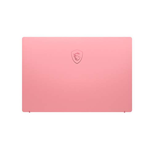 MSI Prestige 14 A10RAS-076IN Intel Core i5-10210U  10th Gen 14-inch Laptop(16GB/512GB NVMe SSD/Windows 10 Home/MX330, 2GB Graphics/Pink/1.29Kg )9S7-14C213-076 9