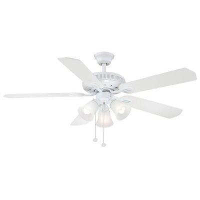 Hampton Bay Glendale 52 In. White Ceiling Fan by Hampton Bay
