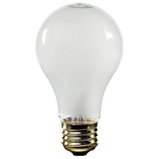 Sunbeam Rough Service 100 Watt Incandescent Bulb - 2 Bulbs per Box