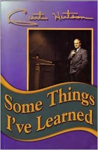 Image result for Some Things I've Learned curtis