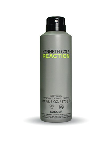 31%2BhkN1HFpL Kenneth Cole Reaction for Him 6 oz. All Over Body Spray This product is not a tester Packaging may vary
