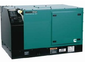 6KW Cummins Onan QD 6000 Diesel Commercial Mobile 63A Generator – 6.0HDKAV-419346