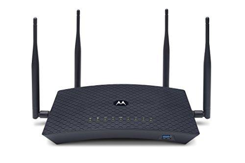 MOTOROLA-AC2600-4x4-WiFi-Smart-Gigabit-Router-with-Extended-Range-Model-MR2600