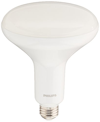 Philips LED Philips 457010 9w BR40 LED Dimmable Flood Soft White Bulb-65w equiv