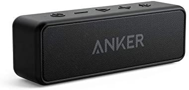 [Upgraded] Anker Soundcore 2 Portable Bluetooth Speaker with 12W Stereo Sound, Bluetooth 5, Bassup, IPX7 Waterproof, 24-Hour Playtime, Wireless Stereo Pairing, Speaker for Home, Outdoors, Travel