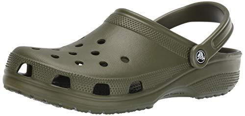Crocs Men's and Women's Classic Clog, Comfort Slip On Casual Water Shoe, Lightweight, Tangerine, 6 US Women / 4 US Men
