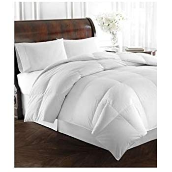 RALPH LAUREN Bronze Comfort White Down Alternative Comforter FULL/QUEEN