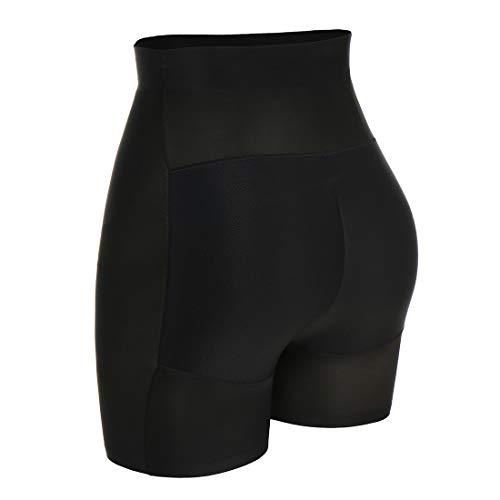 Butt Lifter Panties for Women Control Lace Underwear Workout Shapewear Booty Shaper Lift Enhancer Shorts (L, Beige)