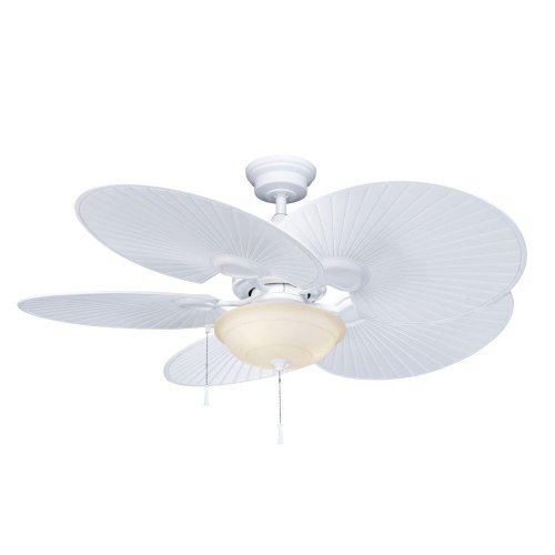 Hampton Bay Havana 48 in. Indoor/Outdoor Matte White Ceiling Fan by Hampton Bay
