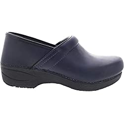 Dansko Women's Xp 2.0 Navy Leatherclogs-and-Mules-Shoes 7 B(M) US