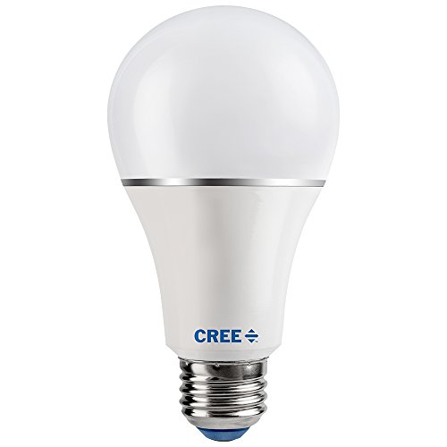 Cree LED 3-Way Soft White Light Bulb 3/7/16.5 Watt - 1 Bulb Total