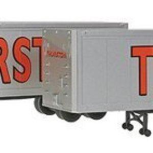 Walthers SceneMaster – 40′ Trailer 2-Pack – Assembled — Thurston (silver, red, Large Lettering) – HO by Walthers Scenemaster 310EEbqesgL