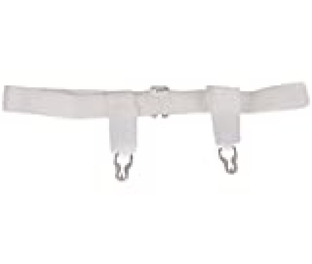 Dmi Sanitary Belts With Adjustable Hook And Eye Closure  Inches White