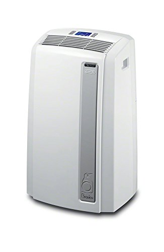 De'Longhi PACAN120EW-3A Pinguino Whisper Cool Portable Air Conditioner with Real Feel Mode, 450 sq. ft.