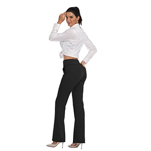 Flare yoga pants with pockets